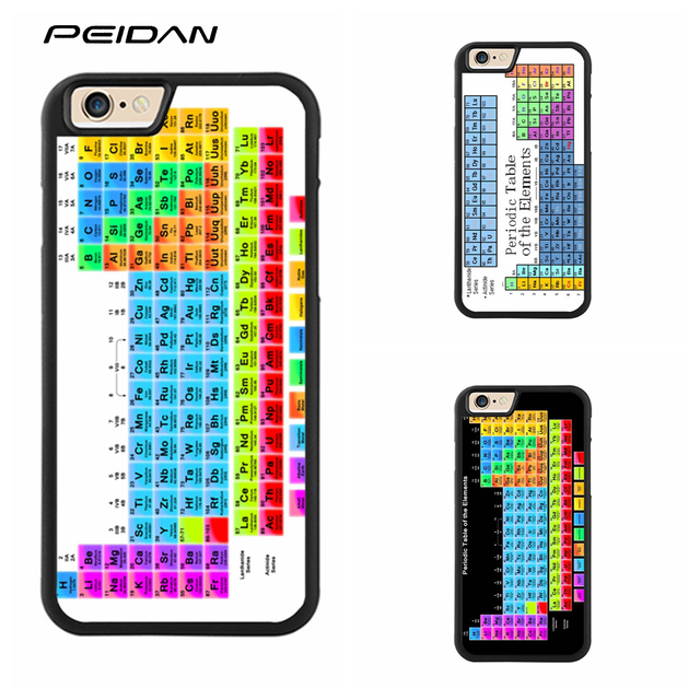 peidan periodic table full protective cover cell phone case for iphone x 4 4s 5 5s - Periodic Table Full