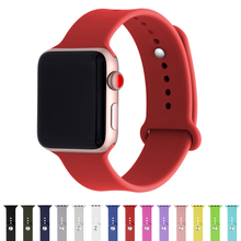 DIDI for iWatch Band 38mm 4 44mm Series 4 3 2 1 Strap Silicone Bracelet For Apple Watch Bands 42mm 40mm Silicone Women Straps