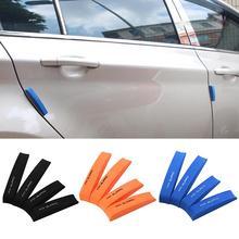 4Pcs Car Anti-Collision Strip Door Guard Protector EVA Foam Edge Trim Anti-Scratch Sticker Decor Styling