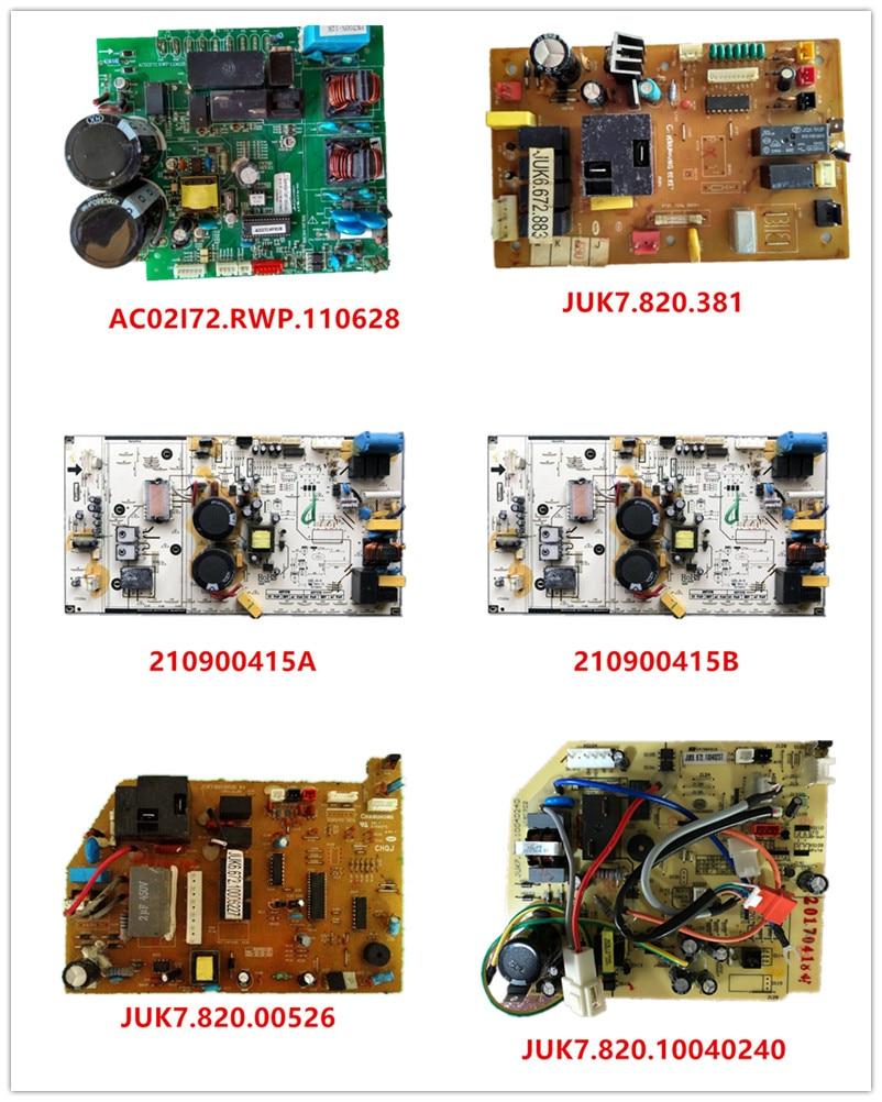 AC02I72.RWP.110628| JUK6.672.865 JUK7.820.381| 210900415A| 210900415B| JUK7.820.00526| JUK7.820.10040240 Used Working