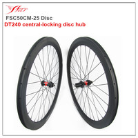 SP central locking disc wheelsets 50mm deep 25mm clincher road rims T700 carbon fiber from Japan 18 months warranty
