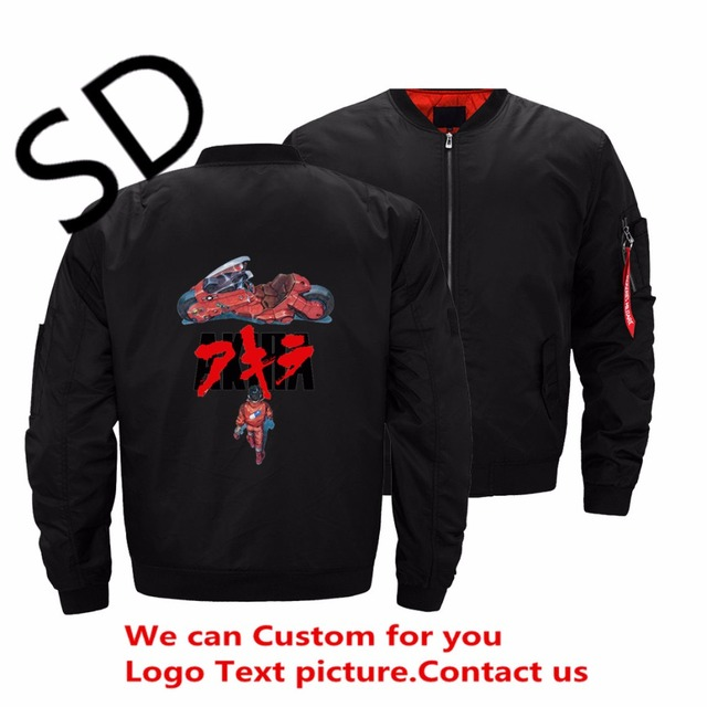 US $35 99 |Dropshipping USA Size Hikaru no Go Akira Jacket Men Anime mens  bomber jackets and coats Plus Size Clothing ropa hombre Winter -in Jackets