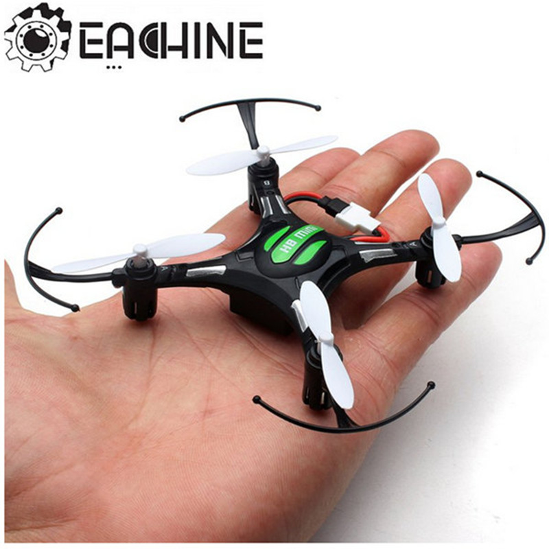 Hot Sale Eachine H8 Mini Headless Modo 2.4g 4CH 6 Eixo 360 Graus de Rotação RC Quadcopter RTF Preto Branco brinquedo de Controle remoto