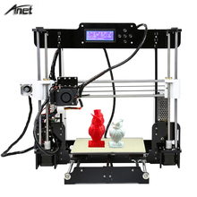 3D Printer Auto Level A8 Reprap Prusa i3 DIY 3D Printer Kit with Filament SD Card Video ,LCD Screen Tools Gift
