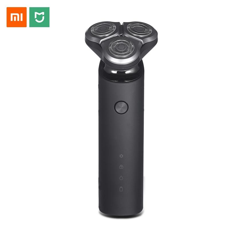 Xiaomi Mijia Electric Shaver Razor for Men 3 Head Dry Wet Shaving Machine USB Rechargeable Waterproof