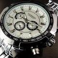 2016 Мода Curren Марка Мужчины Кварцевые Спортивные Часы Регулируемый Полный Нержавеющей Стали Военные наручные Часы Мужской Петух