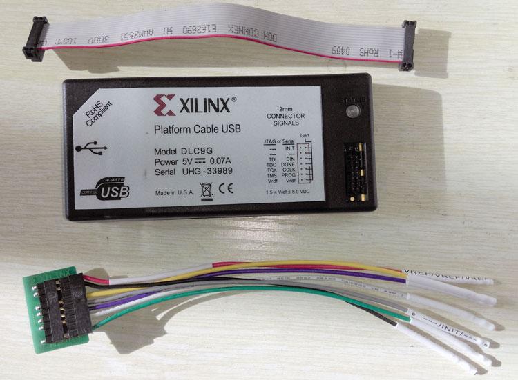 Xilinx FPGA téléchargeur DLC9G Original HW-USB-I gravure USB téléchargement ligne JTAG simulateur