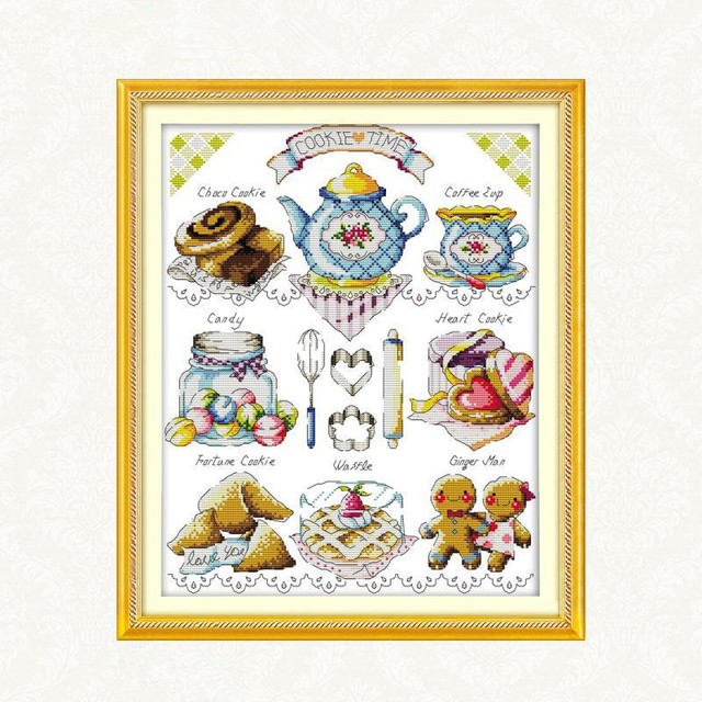 Dms 11ct de punto de cruz dmc cross stitch patrones sets kits de ...