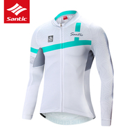 Santic Bike Jersey Cycling Jersey Men Spring Summer Breathable Motocross Jersey Cycling Clothing Dh Jersey Maillot Ciclismo