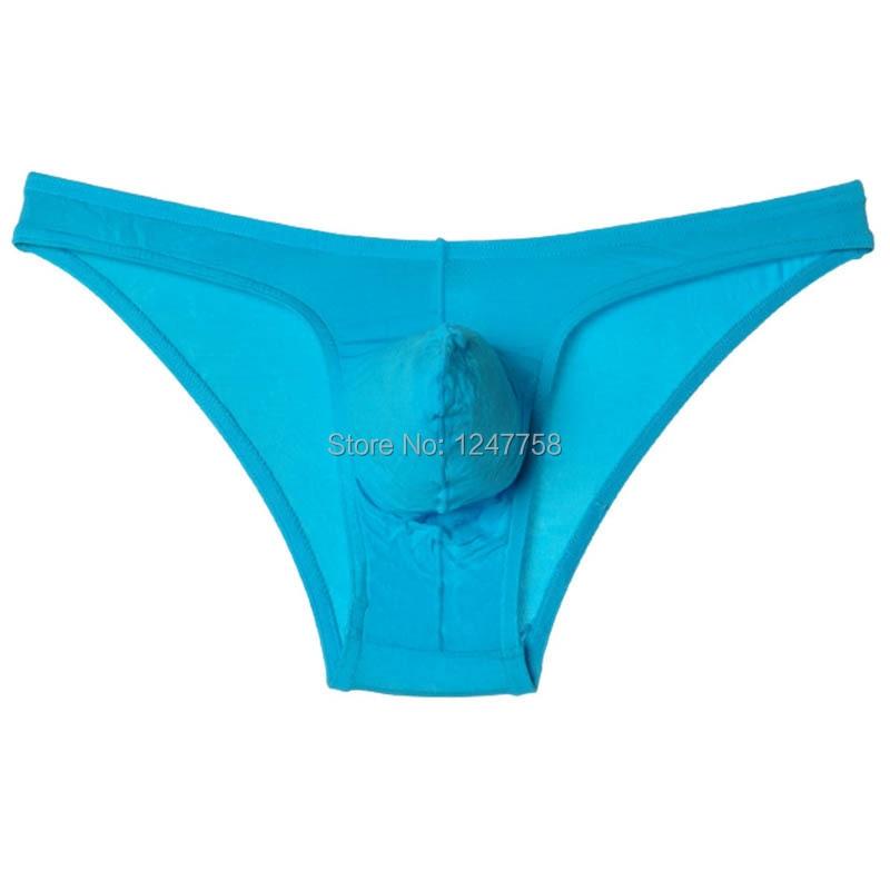 Men's Modal Bikini Brief Underwear Pouch Mini  Comfy Briefs Short Pants  Size M L XL Offer 5 Color