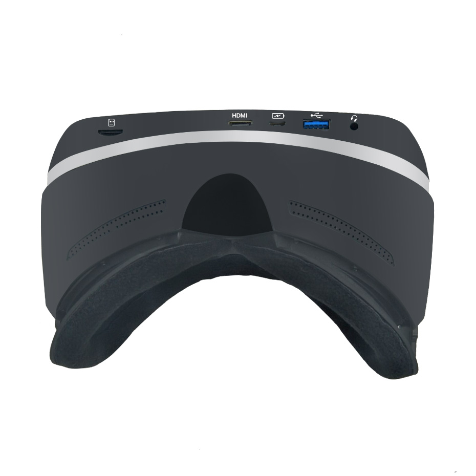 VR All In One VR Headset 2K Virtual Reality Glasses Goggles Immersive Android 6.0 RK3399 2560*1440P IPS 5.5 2GB/16GB VR 3D Box bobovr all in one vr glasses wifi virtual reality headset anti blue ips 5 5 inch 1920 1080 display hd immersive 3d glasses