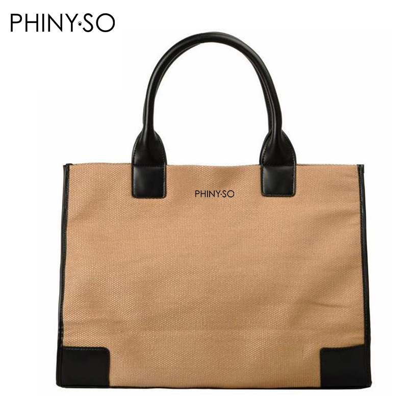 Classic Famous Brand Casual Tote handbag women bag nylon top-handle shoulder bags fashion designer style shopping balsa