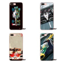 For Huawei G7 G8 P7 P8 P9 P10 P20 P30 Lite Mini Pro P Smart Plus 2017 2018 2019 Silicone Phone Covers Indy Racing Car art Poster(China)