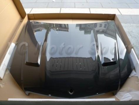 Car Accessories Carbon Fiber GT-Style Front Hood Bonnet Fit For 2009-2011 MB W204 C-Class Sedan Hood Bonnet