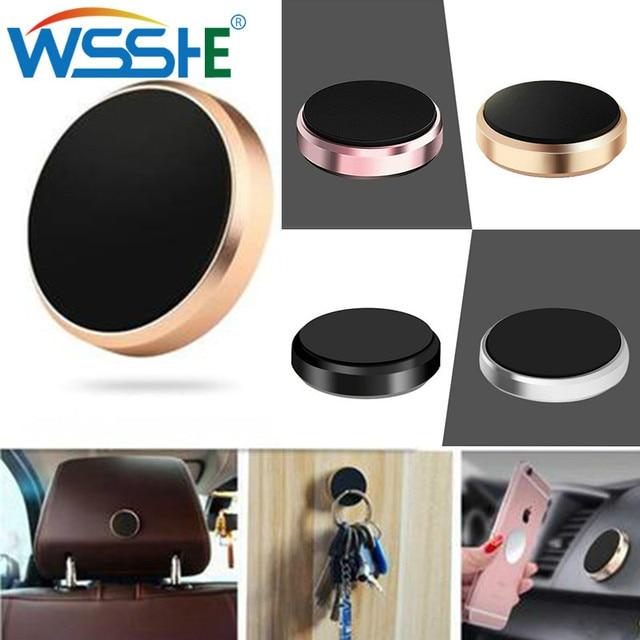 Soporte magnético Universal del teléfono del coche para el soporte del teléfono del soporte del teléfono de la placa del salpicadero de la ventilación del aire del iPhone para Samsung Xiaomi