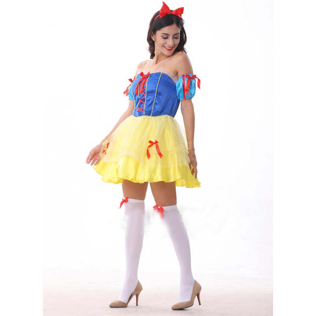 Online Shop Adult Snow White Costume Sexy Snow White Cosplay