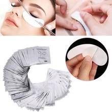 1 par Hydrating Eye Ponta Adesivos Wraps Almofada Cuidados Com Os Olhos New Under Eye Gel Patches Papel Sob As Almofadas do Olho Lash patches(China)