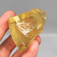 Натуральный топаз Кристалл шероховатый сырой камень образец горной породы Бразилия