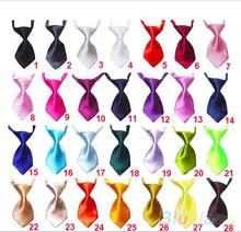 100pcs Pet bowties Solid Adjustable Pet dog Cat Wedding Accessories Pet Neckties Ties  Dog Holiday Products Christmas Supplies