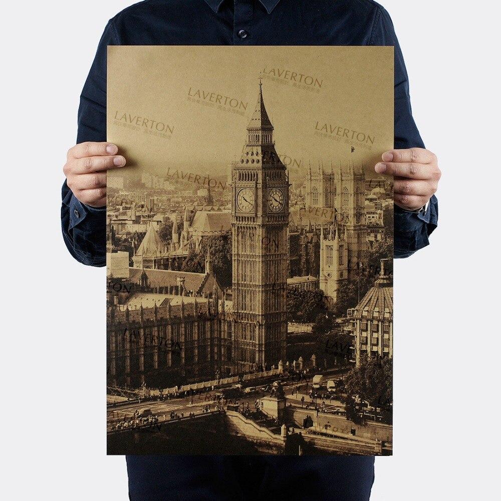 Elizabeth Tower/London Big Ben/Famous View Design /kraft