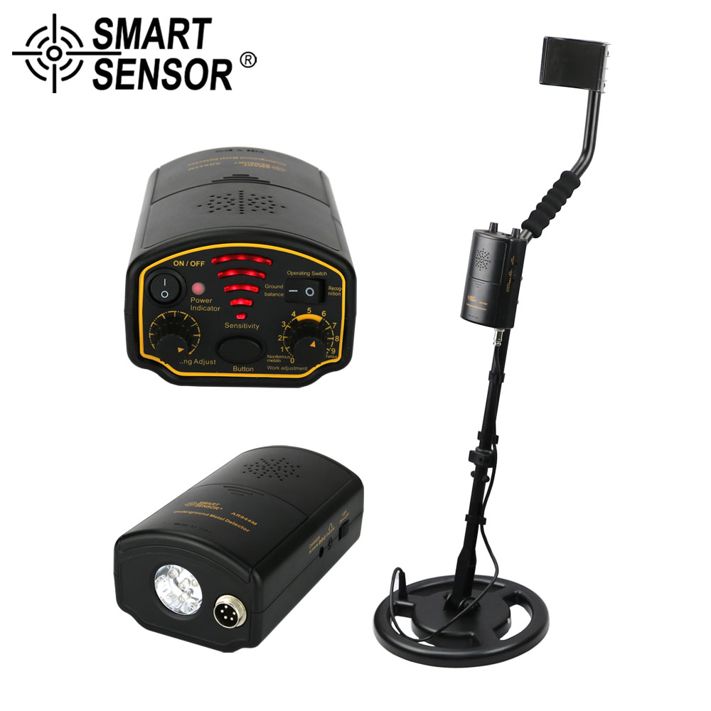 Professional Metal Detector Underground AR944M/AS944 Search Depth 1.5M/2.5M scanner Finder Gold Treasure Metal Hunter underground metal detector treasure hunter gold digger detection depth 2 5 m professional metal detector as944 waterproof
