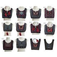 Горячая Распродажа, этнический стиль, модная кружевная ткань, вышивка, декольте, аксессуары для шитья, аппликация, кружевной воротник, аксессуары для творчества