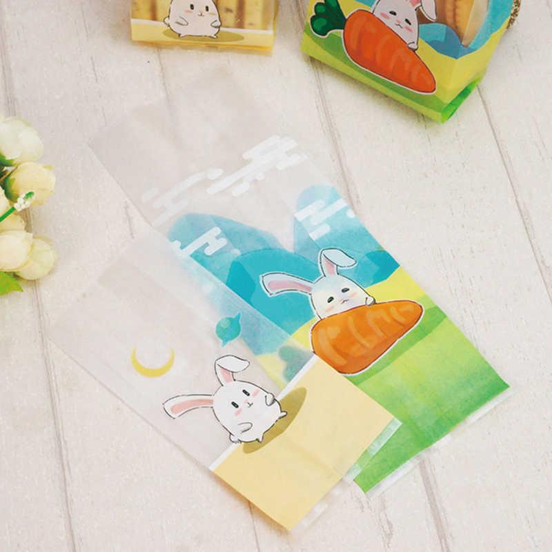 50 Túi nhựa Tự Dính Cho Đám Cưới Sinh Nhật Món Quà Bên Túi Biscuit Baking Bao Bì Túi Cảm Ơn bạn Cookie & kẹo Túi