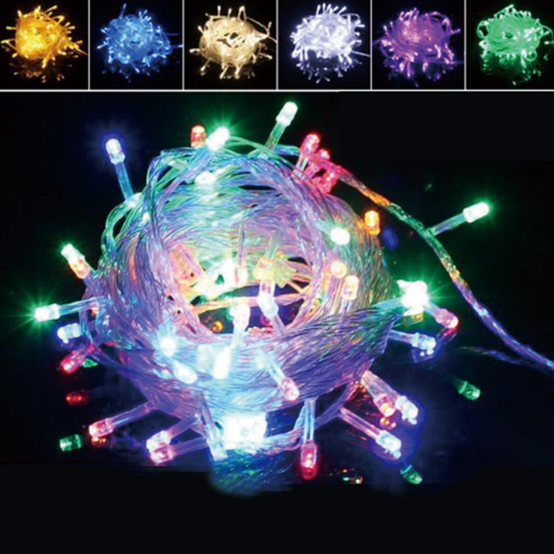 Led String Guirlande Kerstboom Fairy Licht Christmas Lights Outdoor  Waterdicht Home Garden Party Outdoor Vakantie Decoratie