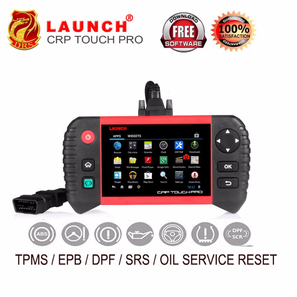 2018 Launch Creader CRP Touch Pro Scanner obd2 Diagnostic Tool Full System WiFi Auto Launch Code Reader Scanner DPF Regeneration все цены