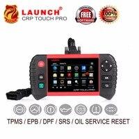 Launch Creader CRP Touch Pro полные системы диагностический EPB/DPF/TPMS/сброс услуги/Wi Fi онлайн обновление