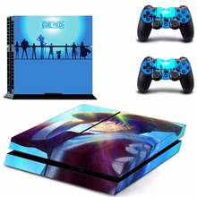 Anime One Piece Luffy PS4 Skin Sticker