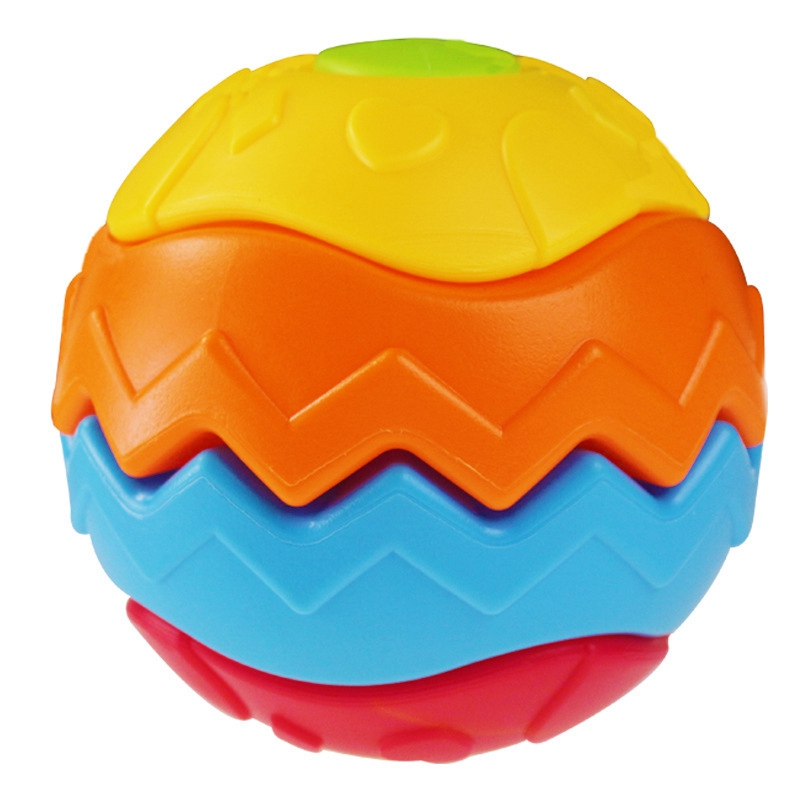 Variety Of Puzzles And Deformation Balls, Infants And Children, Inserting Fitness Balls, Assembling Children'S Toys