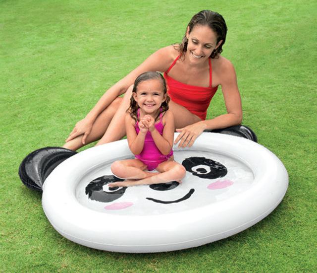 2016 Panda dos desenhos animados infantil remar piscina inflável família piscina areia piscina oceano piscina de bolinhas bebê banheiras