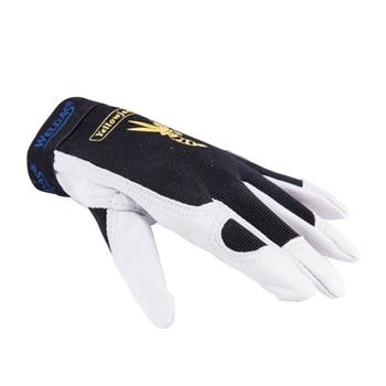 Leather Machinist Gloves Welding Glove Grain Goat Skin Leather Driver Mechanics Gloves Work Gloves leather work glove mig tig safety glove premium grain cow leather welding glove