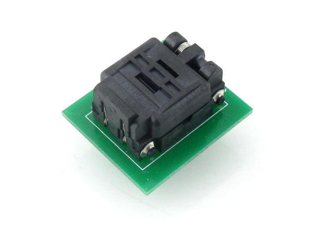 QFN8 TO DIP8 Adapter QFN8 MLF8 MLP8 Plastronics 08QN50T43020 QFN IC Programming Adapter Test Burn-in Socket 0.5mm Pitch