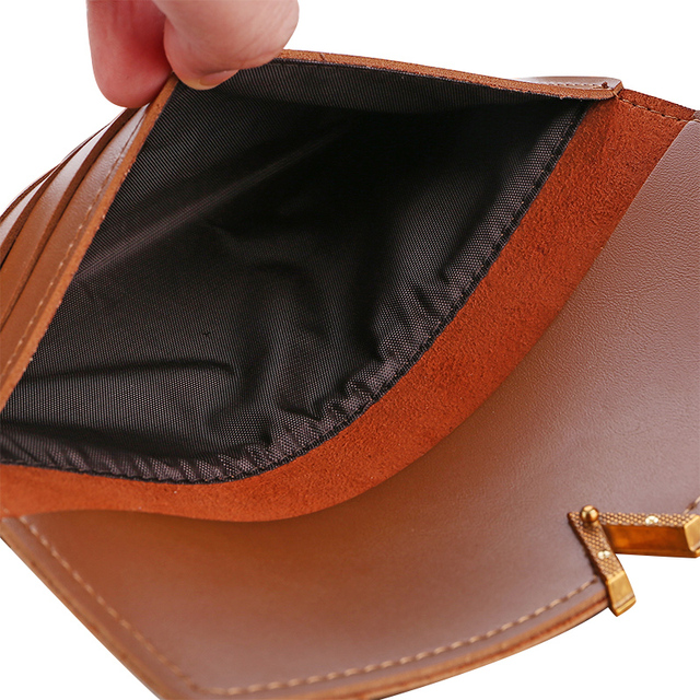 2019 Leather Hasp Lady Moneybags Zipper Coin Purse
