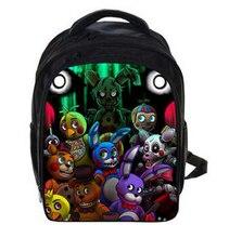 13 Inch Cartoon Five Nights At Freddys Kids Backpack Kindergarten School Bag Children Printing Backpack Girls Boys Mochila
