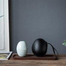Fang Ran Ceramics, Tea Set, Quick Cup, One Pot, Two Cups, Portable Travel Bags, Gift