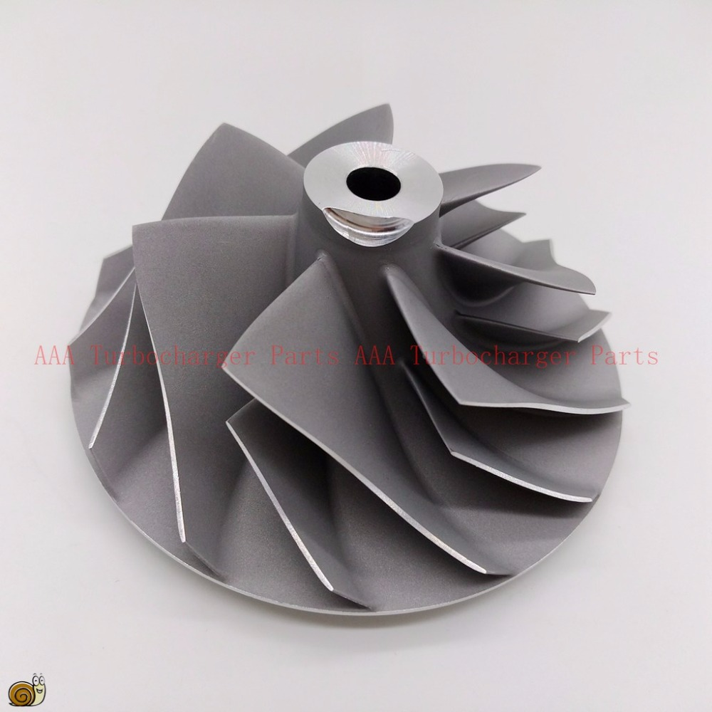HX55 Turbo Compressor Wheel 71x99mm 8148987,4049337,8112637,20857656 supplier AAA Turbocharger PartS k16 turbo billet compressor wheel 44 3x63 4mm 5316 970 7010 5316 970 7013 9040964299 9040965299 aaa turbocharger parts