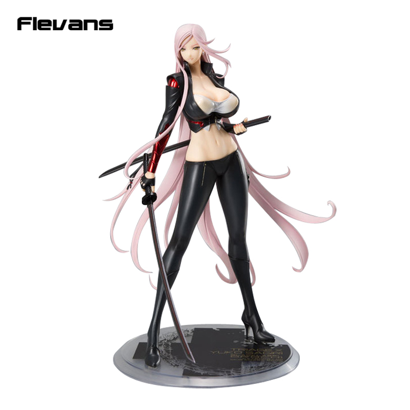 все цены на Anime Triage X Yuko Sagiri Darkness Ver. 1/7 Scale Painted Figure Collectible Model Toy black/white 26cm