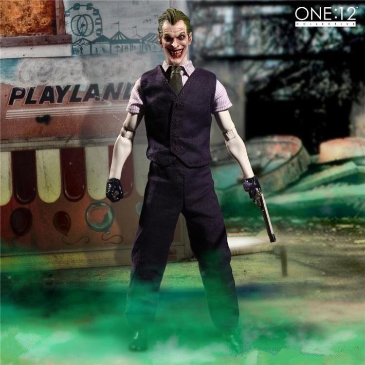 Nouveau chaud 15 cm Joker tissu vêtements Batman action figure jouets collecteur noël cadeau poupée avec boîte