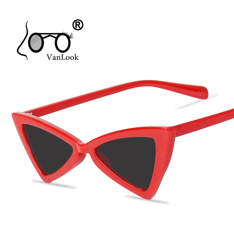 Small Sunglasses Womens Sun Glasses For Men Women Fashion Sunglass Cat Eye Crystal Spectacle Anti Uv400 Lunette De Soleil Femme Women's Sunglasses