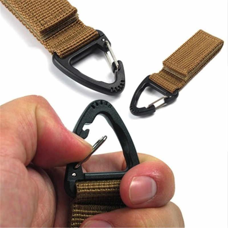 Аксессуары для альпинизма Карабин высокопрочный нейлоновый тактический рюкзак крючок для ключей лямки пряжки висячие системы ремень подвесная пряжка