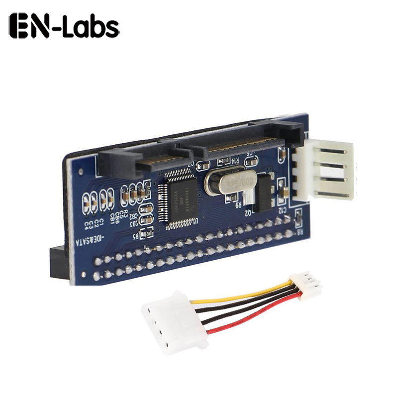 En-Labs 3.5 HDD IDE/PATA to SATA Converter Adapte Card for IDE 40-pin hard drive disk,DVD Burner to SATA 7pin Motherboard dnc набор филлер для волос 3 15 мл и шелк для волос 4 10 мл