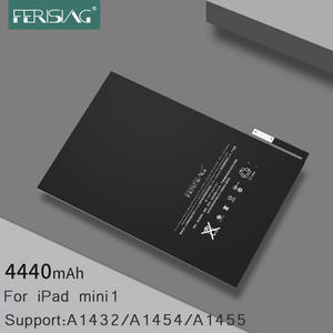 FERISING 2019 New Original Tablet Battery for Apple iPad mini 1 A1432 A1454 A1455 Replacement Lithium Polymer Bateria Mini1