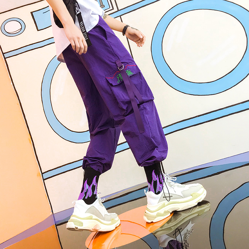 2018 Neue Dünne Arbeit Tasche Freizeit Hosen Hip Hop Streetwear Pantalon Hombre Calca Masculina Skateboard Kostenloser Versand Beste GroßEr Ausverkauf