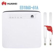 Открыл Huawei e5186 e5186s-61a с антенной 4G LTE CAT6 300 Мбит/с CPE Беспроводной маршрутизатор шлюз доступа PK B593, B310, E5172 b315