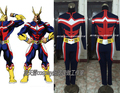 2016 All Might Cosplay Costume All Might Battle Suit From My Hero Academia
