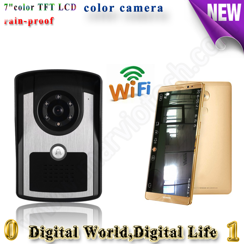 dingdong bell video door phone remote controlled remote door intercom IOS Android available wifi doorbell with 700tvl camera 2015 free shipping wifi video door phone door bell intercom systems app can be run in android and ios devices