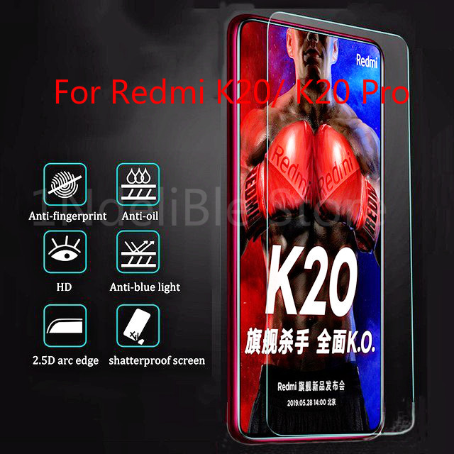 Tempered Glass For Xiaomi Redmi Note 7 Pro 6A 7A K20 6 Pro On Phone Screen Protector For Redmi Note 4 4X Protective Cover Glass